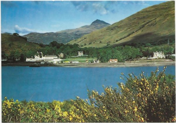 Arrochar, Loch Long, postcard